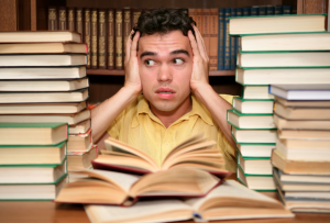 student overwhelmed by workload